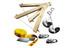 Slackline-Tools Frameline Set Kids - Slackline Enfant - 8 m jaune/rouge